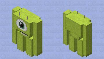 Mike Wazowski Golem Minecraft Mob Skin