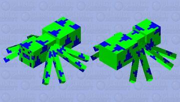 Neo Spider Minecraft Mob Skin