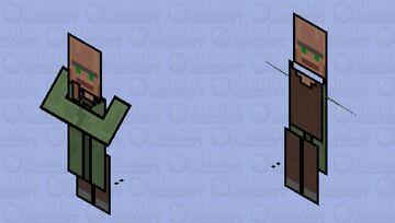 paper Minecraft Mob Skin