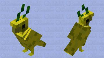 Pineapple Birb Minecraft Mob Skin