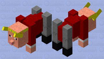 techno ravager Minecraft Mob Skin