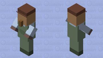 Untitled Goose - Groundskeeper Minecraft Mob Skin
