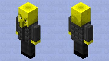"Lemongrab (from ""Adventure Time"") Minecraft Mob Skin"