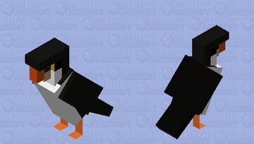 puffin (commission) Minecraft Mob Skin