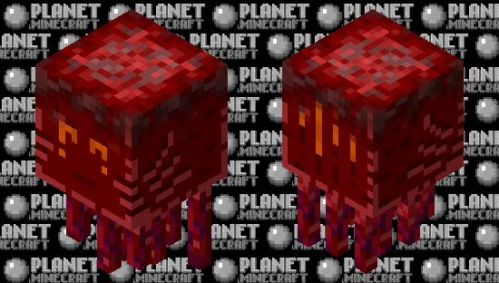 Crimson ghast Minecraft Skin