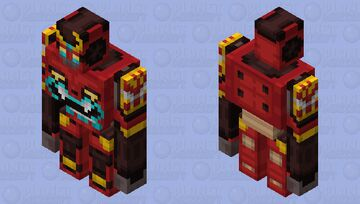 Dai-Gurren GOLEM!! (MC mobs re-imagined contest entry) *Looks better in 3D!* Minecraft Mob Skin