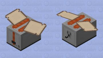 Toaster (angry) Minecraft Mob Skin