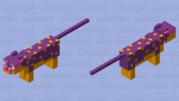Liepard Minecraft Mob Skin