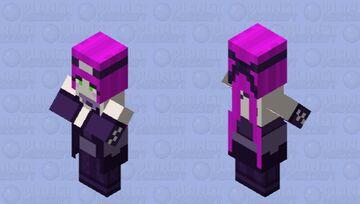 teenage witch Minecraft Mob Skin