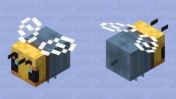 The  if bees wore jeans joke became true! Minecraft Mob Skin