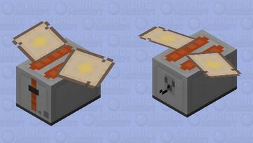 Toaster (angry and pollinated) Minecraft Mob Skin