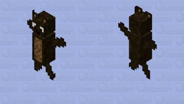 Stuffed Bear Minecraft Mob Skin