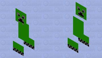 페이퍼 크리퍼 Minecraft Mob Skin
