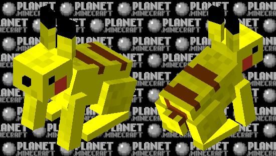 Pikachu (improved) Minecraft Skin