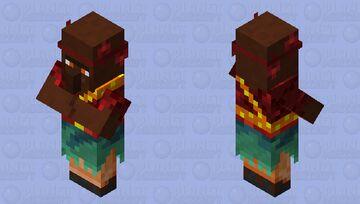 Optifine Villagers nether retexture Minecraft Mob Skin