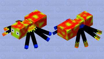 Scuttlebug (aka Earthpack spider) Minecraft Mob Skin