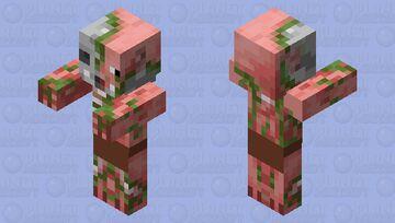 Zombie Piglin Minecraft Mob Skin
