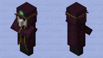 plague doctor Minecraft Mob Skin
