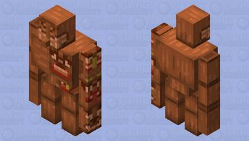 Entry 2 - Totem Golem Minecraft Mob Skin