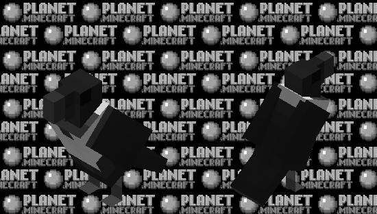 Pied Crow Minecraft Skin