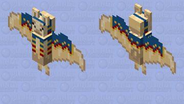 Llama Bat Minecraft Mob Skin