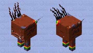 Rasta strider Minecraft Mob Skin