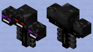 Shadow Wither Minecraft Mob Skin