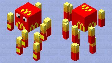 Blaze Bries Minecraft Mob Skin