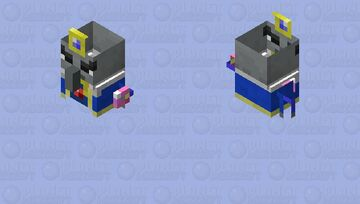 arch illager evoker to scale Minecraft Mob Skin