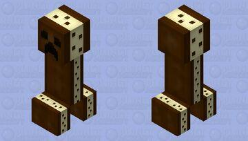 Ice cream sandwich creeper HD Minecraft Mob Skin