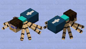 Spider Steve Minecraft Mob Skin