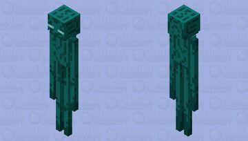 Warped Enderman Minecraft Mob Skin
