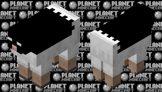 Bat-Sheep Minecraft Skin
