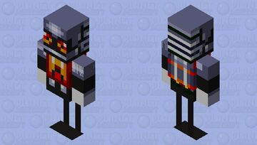 Eggrobo Minecraft Mob Skin