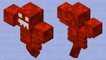 Redstone Monstrosity Finale Minecraft Mob Skin