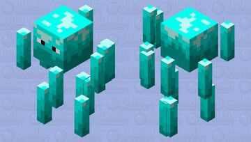 Ice Ice Blazy Minecraft Mob Skin