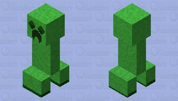 creeper moss (sixth stage)(ver.6) Minecraft Mob Skin