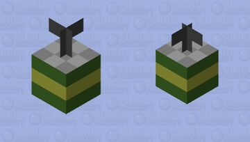 Grenade! Minecraft Mob Skin