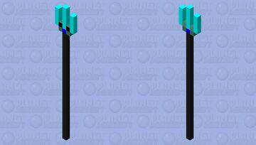 Super Trident Minecraft Mob Skin