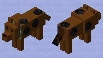 Scooby Dooby-Doo Minecraft Mob Skin