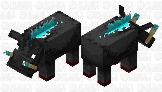 basalt hoglin Minecraft Skin