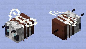 albinow bee Minecraft Mob Skin