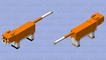 """""""Wasn't I looking at a fox a while ago........... Minecraft Mob Skin"""
