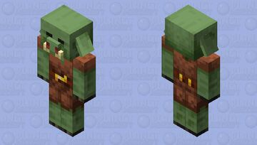 Zombie Piglin 2.0 Minecraft Mob Skin