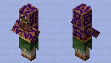 Seer (Villager profession) Minecraft Mob Skin