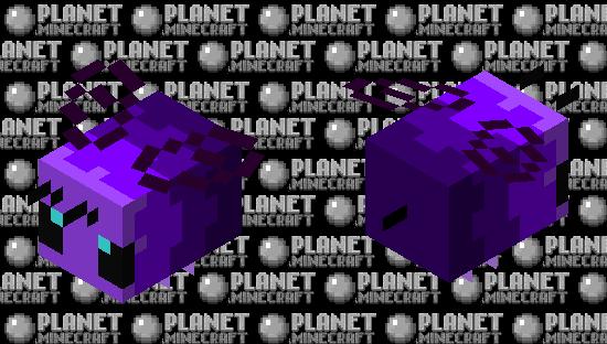 Violet bee Minecraft Skin