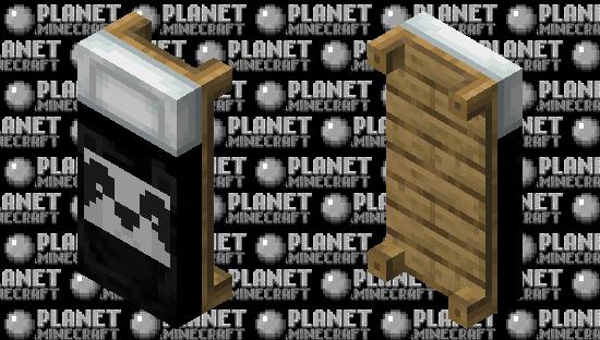 Panda Bed Minecraft Skin