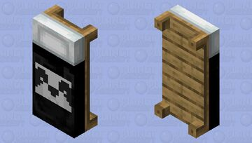 Panda Bed Minecraft Mob Skin
