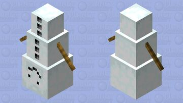 Dinnersnow Minecraft Mob Skin