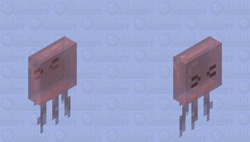 Pink Jelly Minecraft Mob Skin